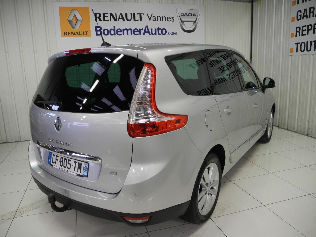 voiture occasion renault grand scenic iii dci 130 fap eco2 initiale energy 7 pl 2012 diesel. Black Bedroom Furniture Sets. Home Design Ideas