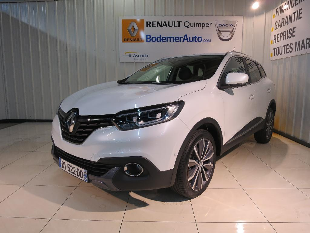 voiture occasion renault kadjar dci 130 eco energy 4wd intens 2015 diesel 29000 quimper. Black Bedroom Furniture Sets. Home Design Ideas