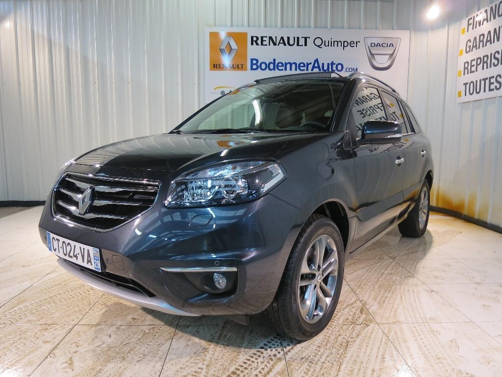 voiture occasion renault koleos 2 0 dci 150 4x4 fap exception euro 5 a 2013 diesel 29000 quimper. Black Bedroom Furniture Sets. Home Design Ideas