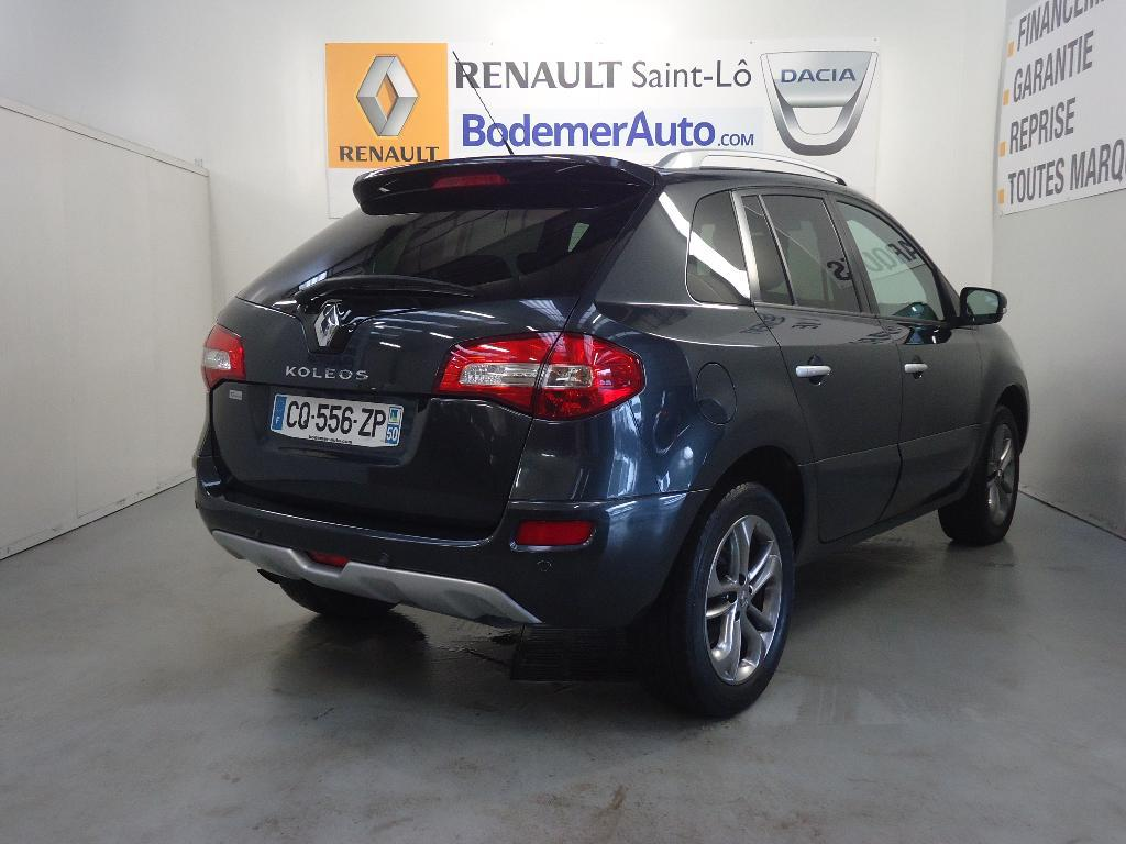 voiture occasion renault koleos 2 0 dci 150 fap exception euro 5 2013 diesel 50000 saint l. Black Bedroom Furniture Sets. Home Design Ideas