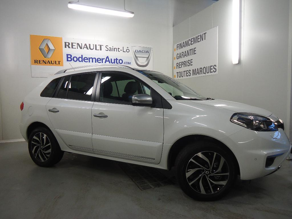 voiture occasion renault koleos 2 0 dci 175 intens a 2015 diesel 50000 saint l manche. Black Bedroom Furniture Sets. Home Design Ideas