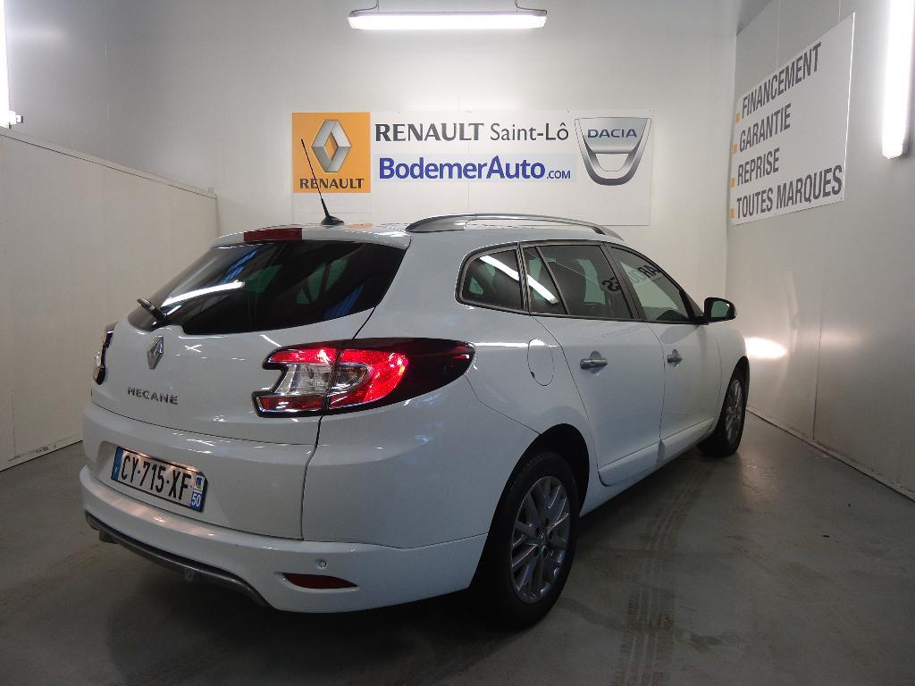 voiture occasion renault megane estate iii 1 5 dci 110 fap eco2 limited 2013 diesel 50000 saint. Black Bedroom Furniture Sets. Home Design Ideas