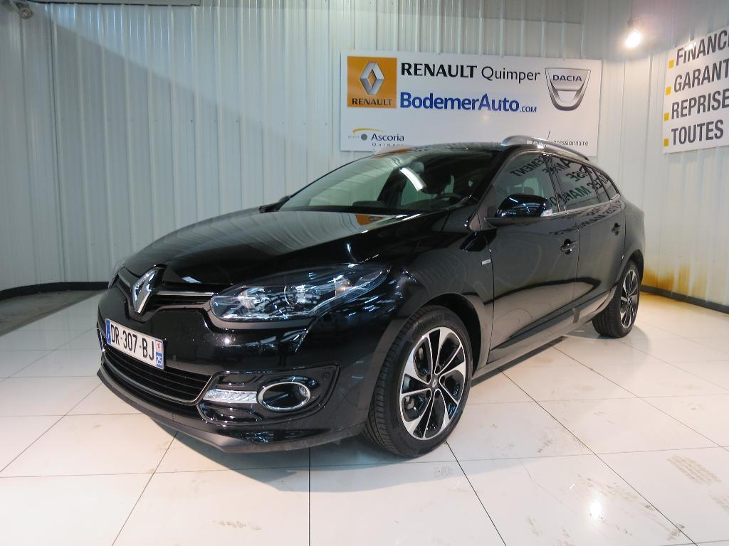 voiture occasion renault megane estate iii 1 5 dci 110 fap energy eco2 bose 2015 diesel 29000. Black Bedroom Furniture Sets. Home Design Ideas