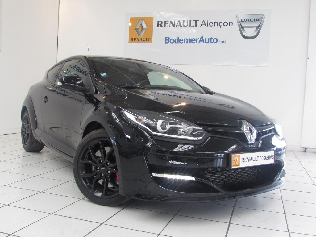 voiture occasion renault megane iii coup 2 0 16v 265 s s rs 2015 essence 61000 alen on orne. Black Bedroom Furniture Sets. Home Design Ideas