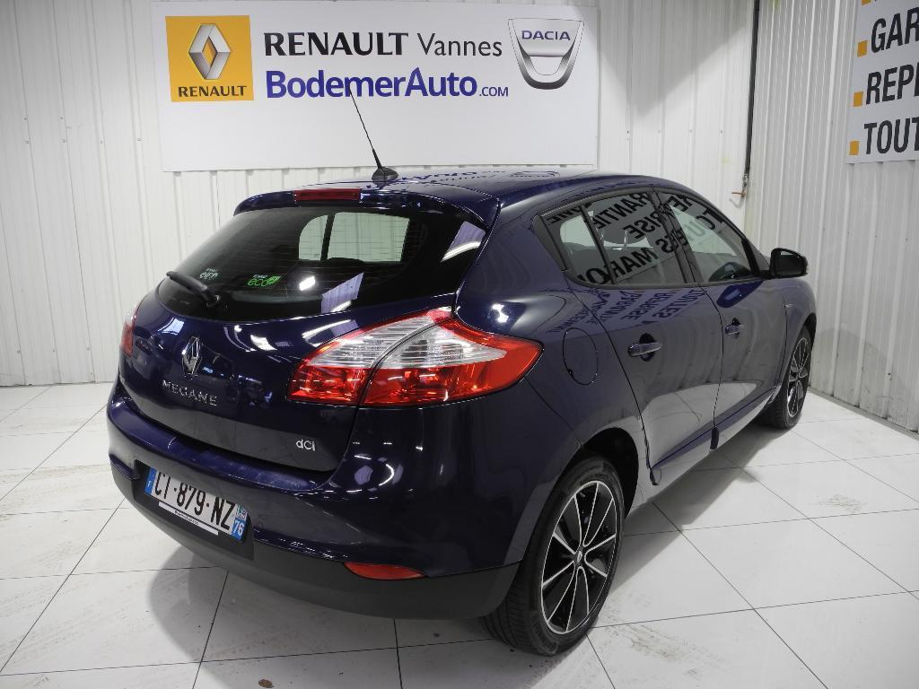 voiture occasion renault megane iii dci 110 fap energy eco2 bose 2013 diesel 56000 vannes. Black Bedroom Furniture Sets. Home Design Ideas