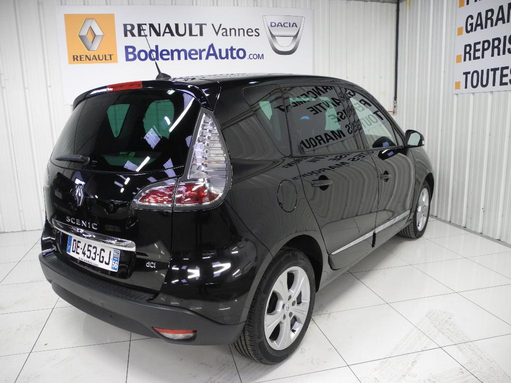 voiture occasion renault scenic iii dci 110 energy fap eco2 sl lounge 2014 diesel 56000 vannes. Black Bedroom Furniture Sets. Home Design Ideas