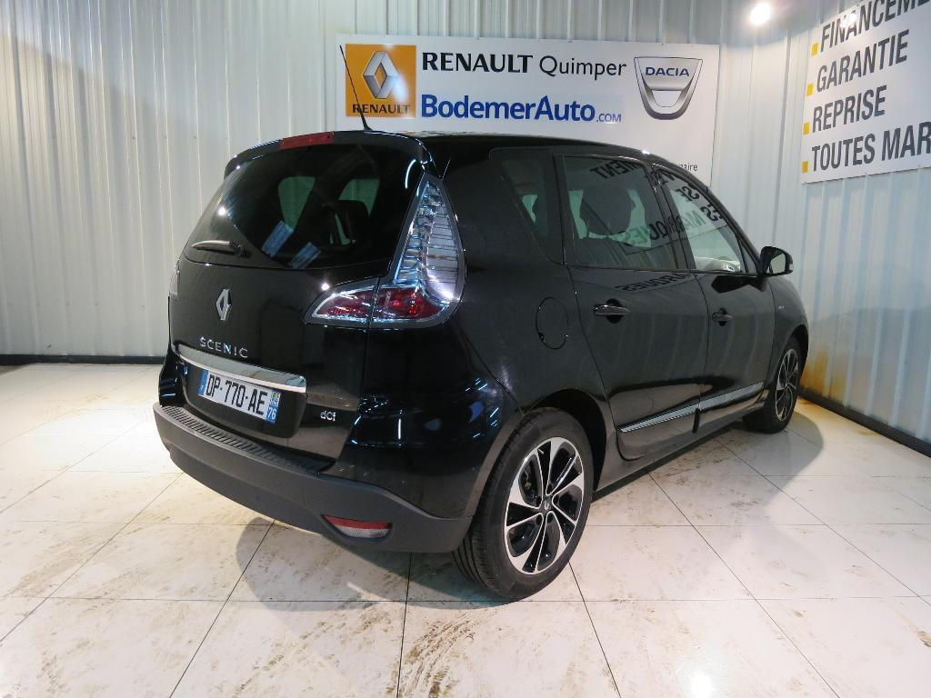 voiture occasion renault scenic iii dci 110 fap eco2 bose edition edc 2015 diesel 29000 quimper. Black Bedroom Furniture Sets. Home Design Ideas