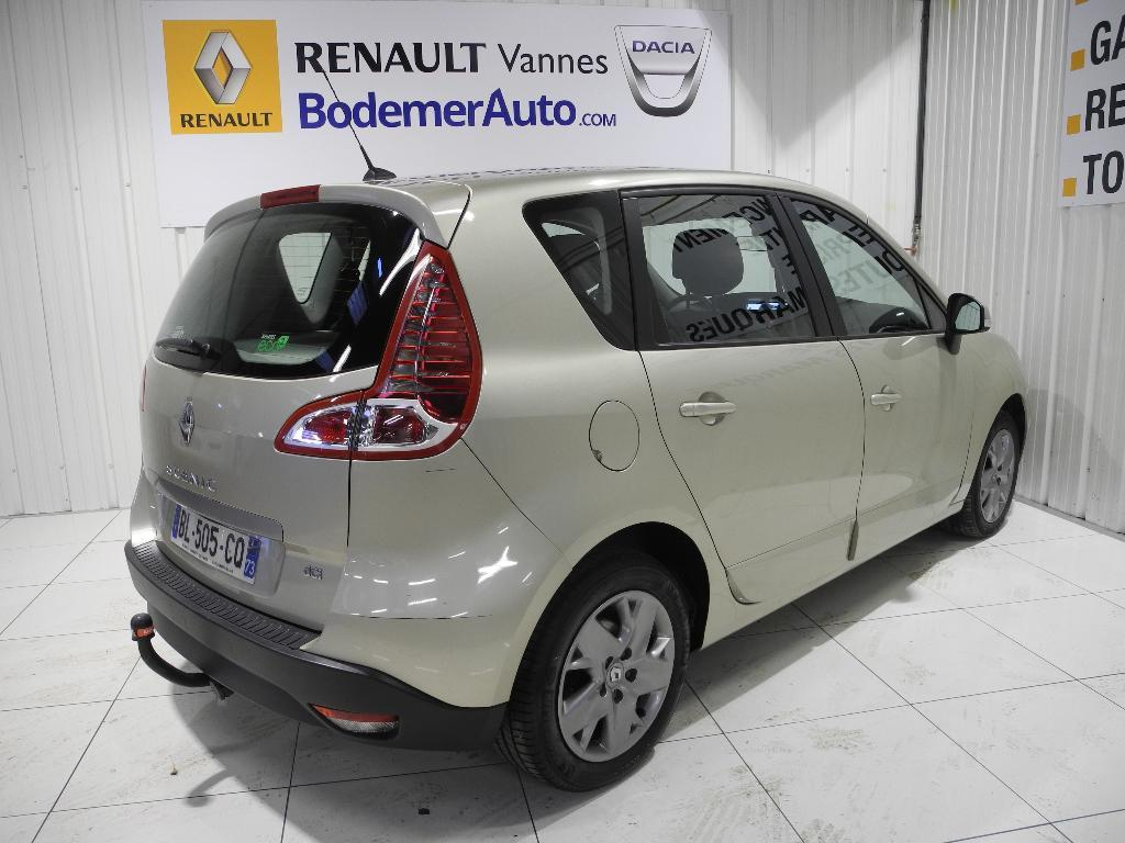 voiture occasion renault scenic iii dci 110 fap eco2 expression euro 5 2011 2011 diesel 56000. Black Bedroom Furniture Sets. Home Design Ideas