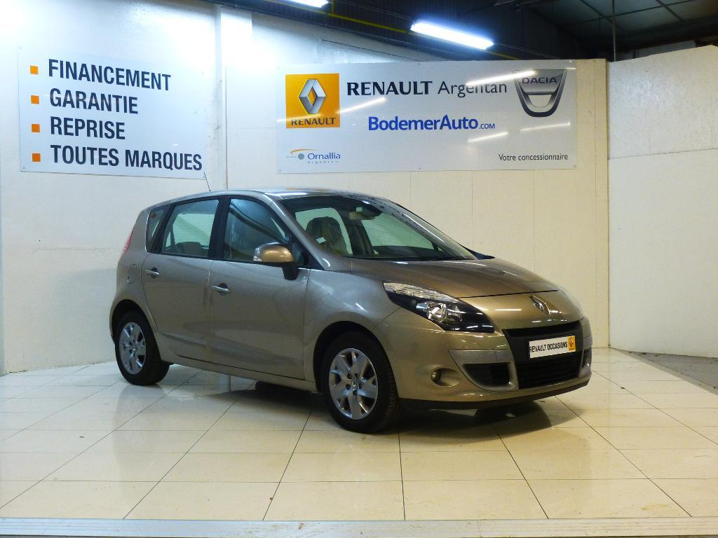 voiture occasion renault scenic iii dci 110 fap eco2 expression euro 5 2011 diesel 61200. Black Bedroom Furniture Sets. Home Design Ideas