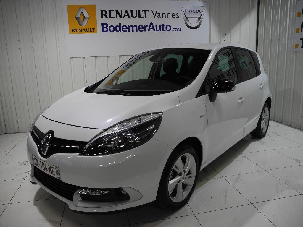 voiture occasion renault scenic iii dci 110 limited 2014. Black Bedroom Furniture Sets. Home Design Ideas