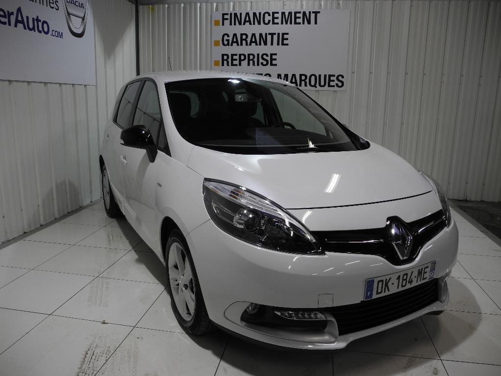 voiture occasion renault scenic iii dci 110 limited 2014 diesel 56000 vannes morbihan. Black Bedroom Furniture Sets. Home Design Ideas