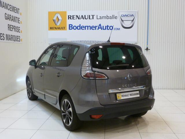 voiture occasion renault scenic iii tce 130 energy bose 2015 essence 22400 lamballe c tes d. Black Bedroom Furniture Sets. Home Design Ideas
