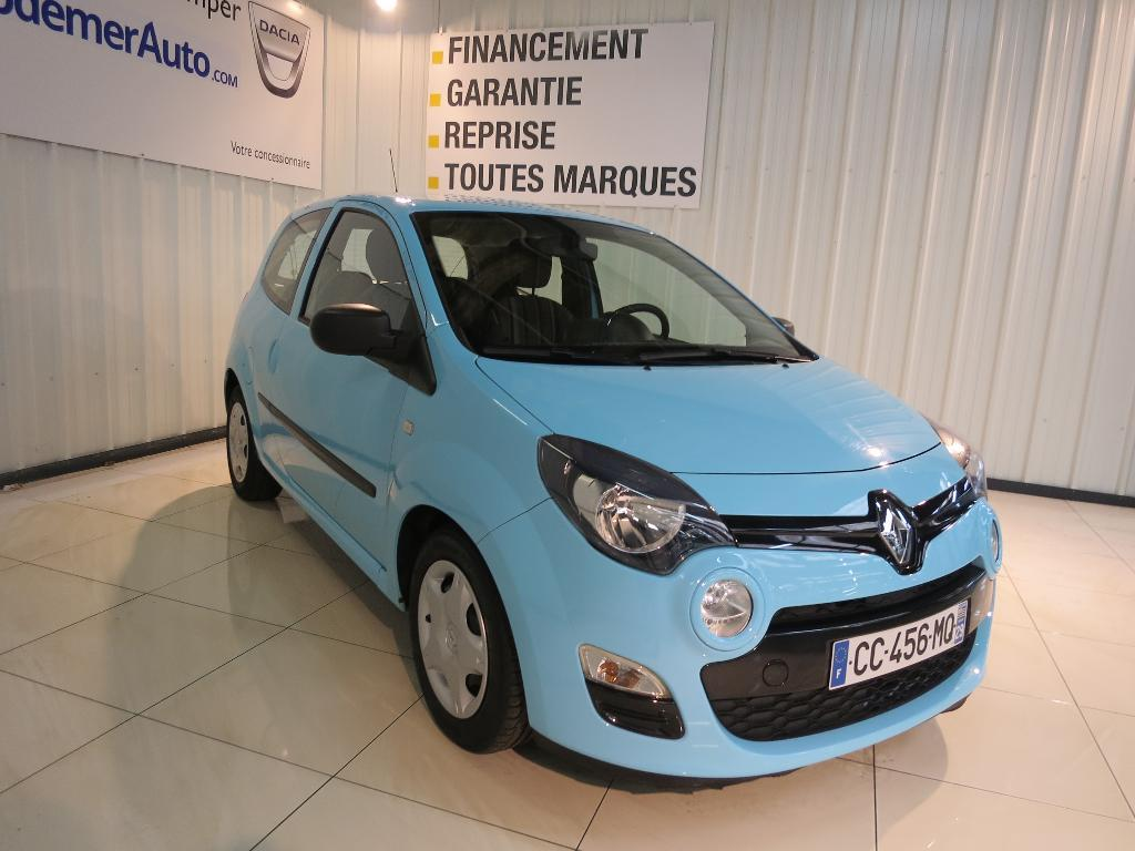 voiture occasion renault twingo ii 1 5 dci 75 eco2 authentique 2013 diesel 29000 quimper. Black Bedroom Furniture Sets. Home Design Ideas