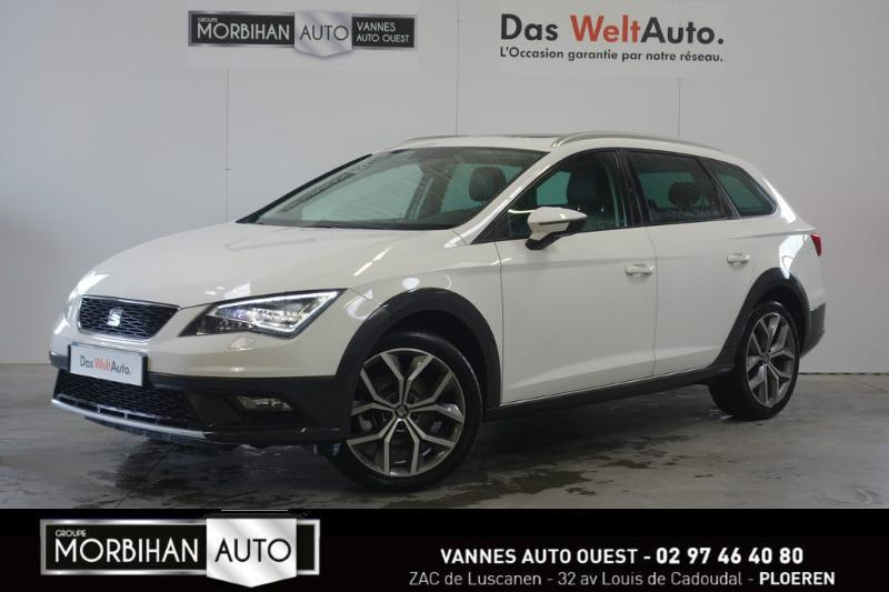 voiture occasion seat leon x perience 2 0 tdi 184ch fap start stop 4drive dsg 2016 diesel 56880. Black Bedroom Furniture Sets. Home Design Ideas