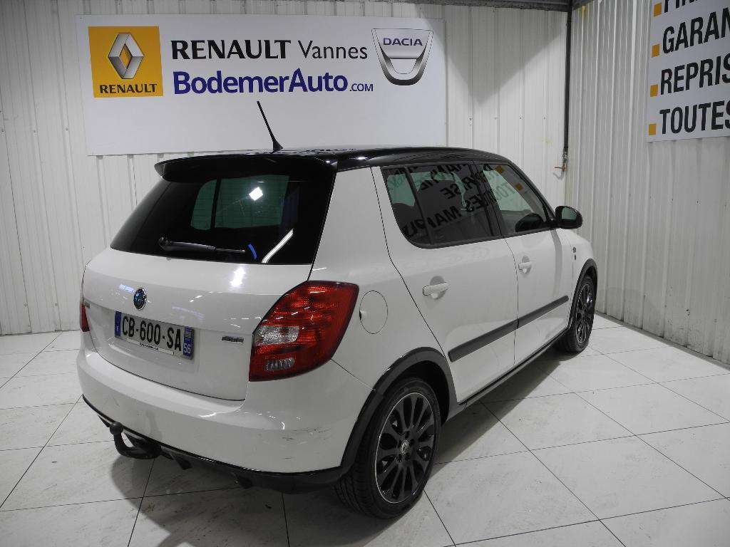 voiture occasion skoda fabia 1 6 tdi 75 cr active monte carlo 2012 diesel 56000 vannes morbihan. Black Bedroom Furniture Sets. Home Design Ideas