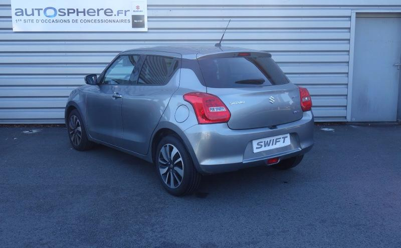 voiture occasion suzuki swift 1 2 dualjet hybrid shvs pack 2017 hybride 44700 orvault loire. Black Bedroom Furniture Sets. Home Design Ideas