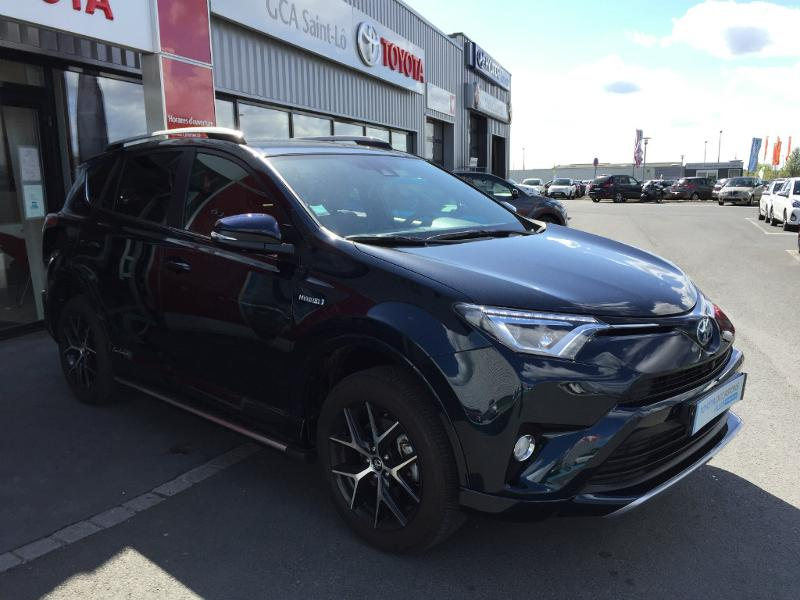 voiture occasion toyota rav4 197 hybride exclusive 2wd cvt 2016 hybride 50000 saint l manche. Black Bedroom Furniture Sets. Home Design Ideas