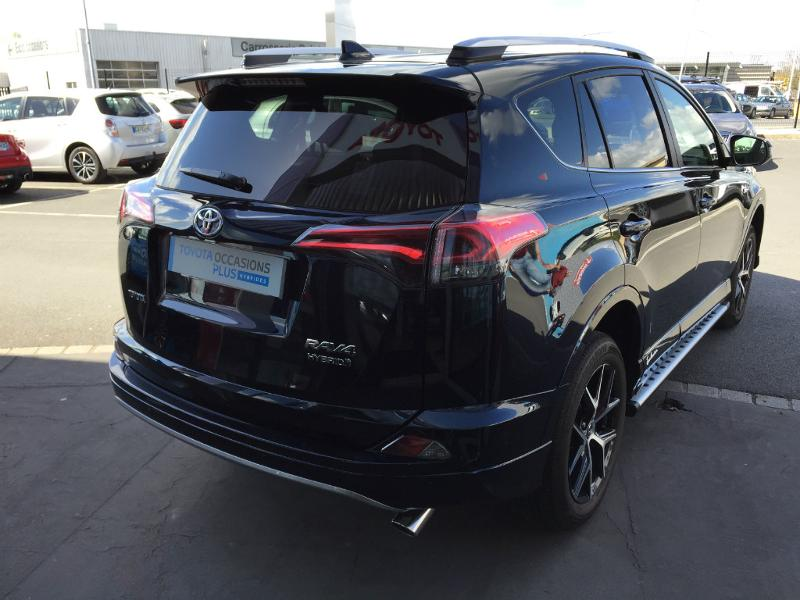 voiture occasion toyota rav4 197 hybride exclusive 2wd cvt. Black Bedroom Furniture Sets. Home Design Ideas