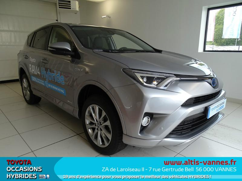 voiture occasion toyota rav4 197 hybride silver edition 2wd cvt 2017 hybride 56000 vannes. Black Bedroom Furniture Sets. Home Design Ideas
