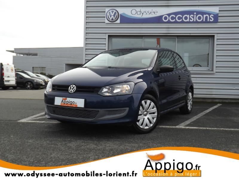 voiture occasion volkswagen polo 1 6 tdi 75ch fap trendline 3p 2010 diesel 56600 lanester. Black Bedroom Furniture Sets. Home Design Ideas
