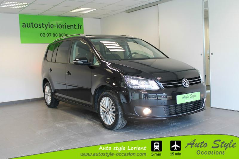 voiture occasion volkswagen touran 2 0 tdi 140ch bluemotion technology fap cup 2014 diesel 56600. Black Bedroom Furniture Sets. Home Design Ideas